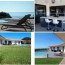 Location d'une villa Classée 5 étoiles à Santa giulia en Corse du sud avec Ponton bateau